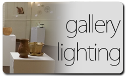Hallberg Center for the Arts Fundraising campaign for Gallery Lighting