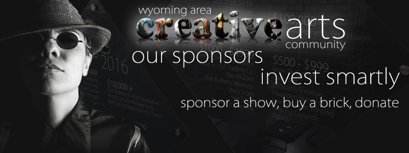 You can help support the arts and the Wyoming Area Creative Arts Community in Wyoming, MN.