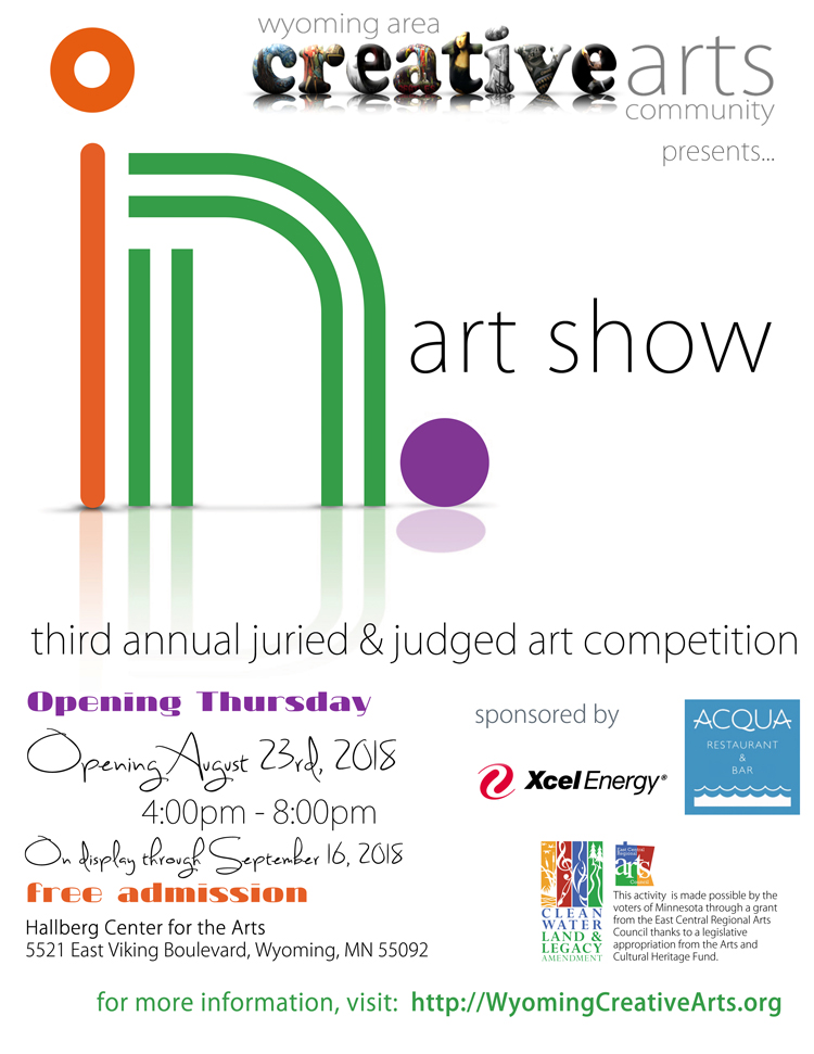 In. Art Show & Competition 2018