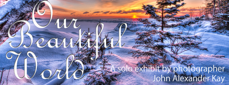 Our Beautiful World by John Alexander Kary opens April 18, 2019 in the Underground Gallery at the Hallberg Center for the Arts