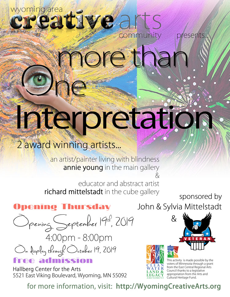 More Than One Interpretation by Annie Young and Richard Mittelstadt