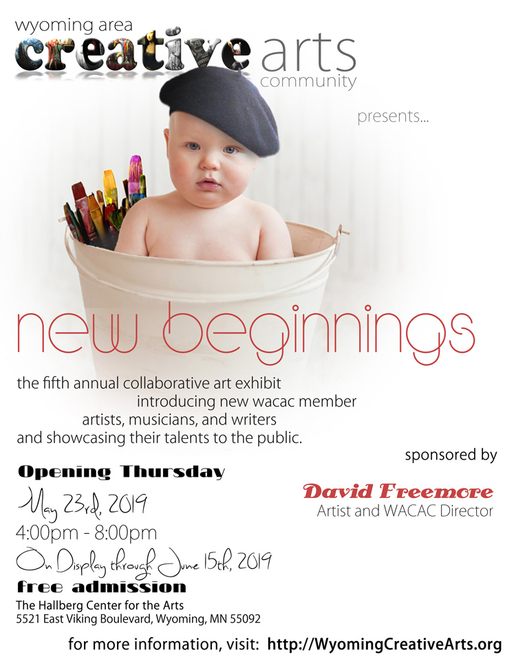 New Beginnings 2019 sponsored by David Freemore