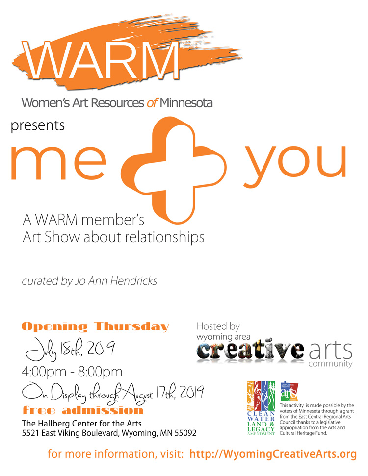 Me + You a WARM member's Art Show