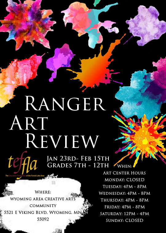 Ranger Art Review in the Underground Gallery