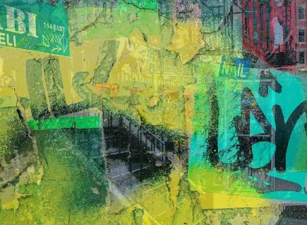 Houston Street Collage