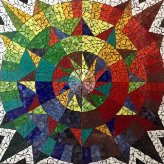 Barn Quilt Color Wheel